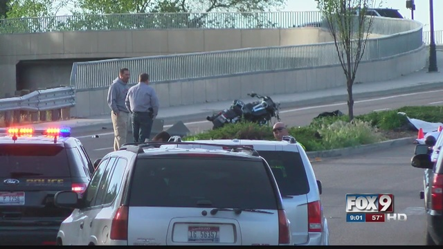Single Motorcycle Accident In Garden City
