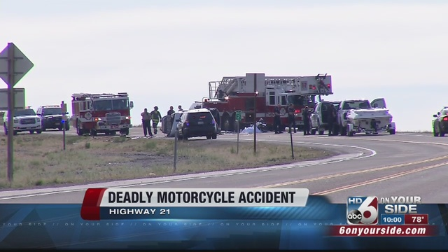 The Ada County Coroner's office is investigating the accident that killed a man in his mid-40's on a black motorcycle and sent a man and women in their ...