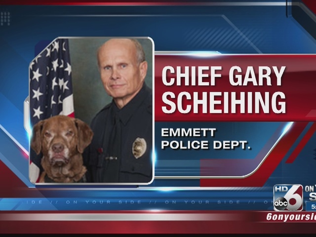 Emmett Police Chief And K 9 Involved In Crash On Highway