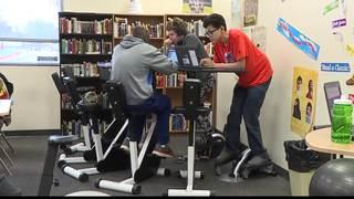 Wobbly seats help kids learn