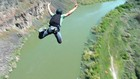 Base jump off the Perrine Bridge in Twin Falls