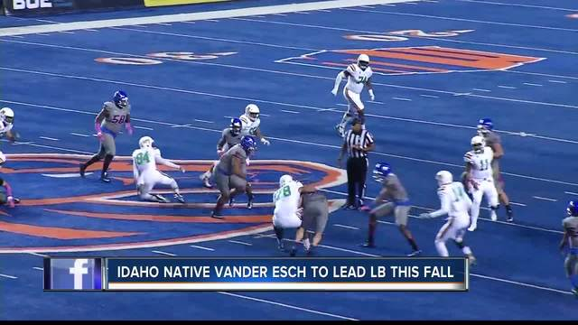 Leighton vander esch to be leader at lb for bsu kivitv for Abc cuisine esch