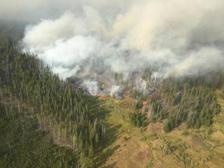 Wildfires spark air quality warnings