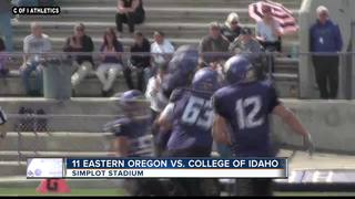 Yotes Upset Eastern Oregon 28-20