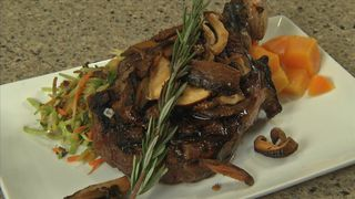 SYSCO KITCHEN: Ribeye before the grill is done