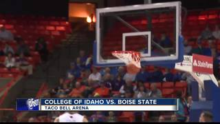 Boise State hangs on vs. C of I 74-69