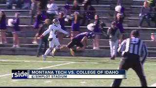 Yotes Victory Over Montana Tech: 64-35