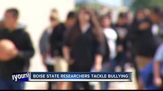 Boise State researchers tackle bullying