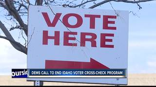 Dems call to pull Idaho from voter crosscheck