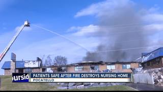 Pocatello nursing home total loss after fire