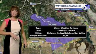 Wet across SW Idaho to kick off holiday week