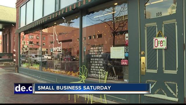 Shop and Dine in Morristown on Small Business Saturday