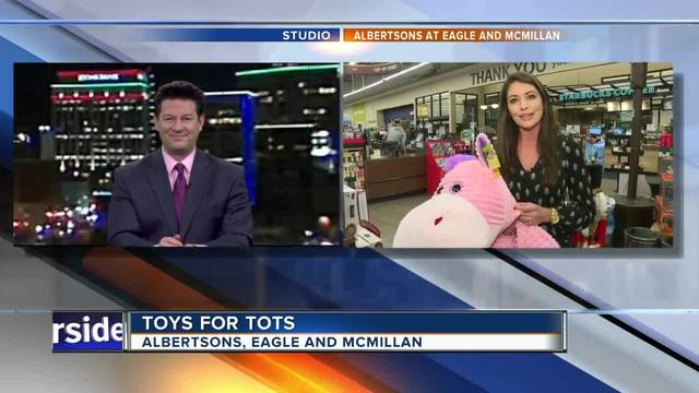 Share the holiday spirit: Give to Toys for Tots