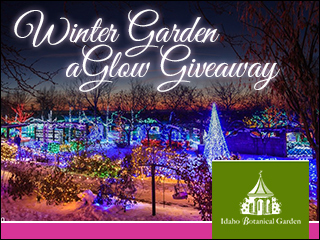 Win tickets to Winter Garden aGlow