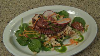 SYSCO KITCHEN: Leku Ona cooks up Octopus