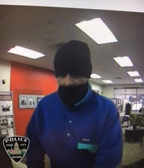 Attempted bank robbery suspect remains at large