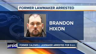 Former Caldwell lawmaker arrested for DUI