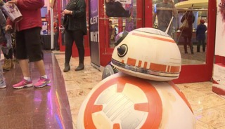 Fans flocks to see the latest Star Wars movie