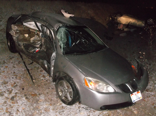 Driver crashes into Ada Co. Deputy vehicle