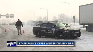 Winter weather proved dangerous for drivers