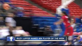 Riley Lupfer earns 2nd MW POW Honor