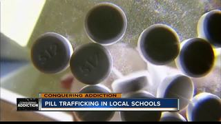 Officers see pill trafficking in high schools