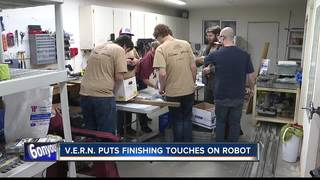 Local robotics team prepares for demonstration