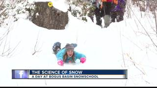 A Day at Bogus Basin SnowSchool