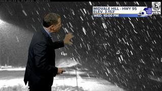 Snowy Weather Returns to the Treasure Valley