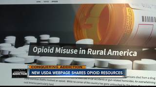 New USDA webpage shares opioid-related resources