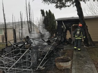 Boise Fire responds to early morning fire