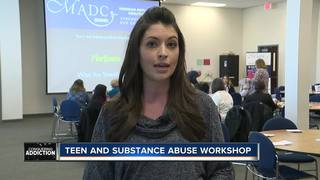 Leaders attend Teen and Substance Abuse workshop