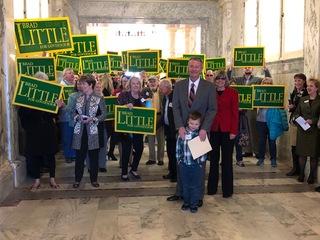 Little wins GOP gubernatorial primary