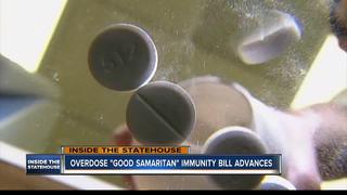Overdose immunity bill advances in statehouse