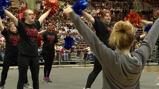 Boise State Spirit Squad helps Special Olympic