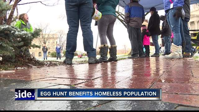 FOP hosts Easter egg hunt