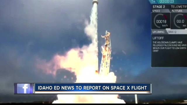 SpaceX launches reused Dragon to ISS