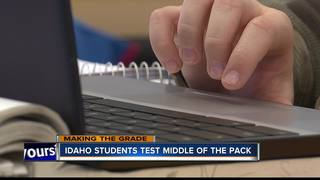 Study finds Idaho students testing at average