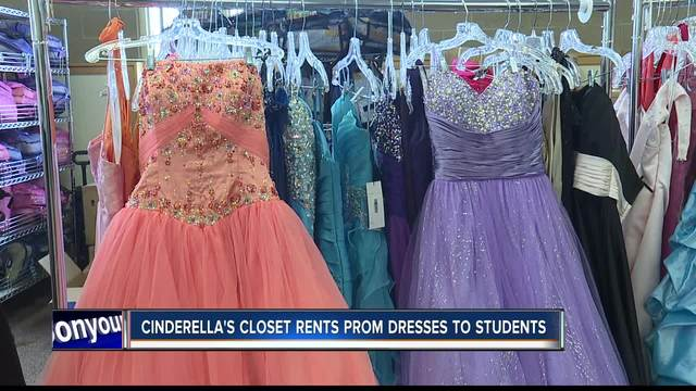 Cinderella\'s Closet rents prom dresses and tuxedos to students in ...