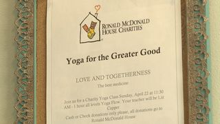 Meridian yoga studio helps Ronald McDonald House