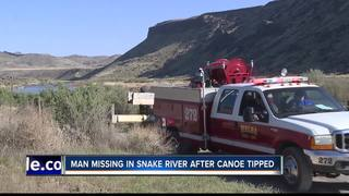 Recovery underway for man in Snake River
