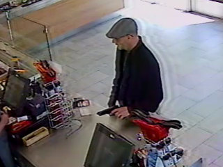 Meridian Police search for armed robbery suspect