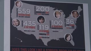 Fight continues against human trafficking