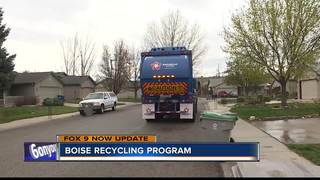 Boise adapting to new recycling program
