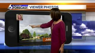 Warm but at-times stormy weather this week