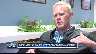 Veteran shares story of overcoming addiction