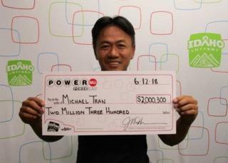 Boise man wins $2 million Powerball