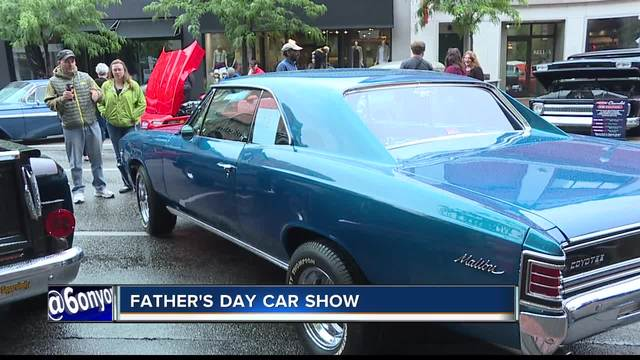 The Downtown Boise Fathers Day Car Show Went On Despite The Rain - Boise car show father's day