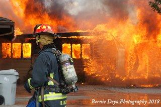 PHOTOS: Firefighters battle Ada County fire