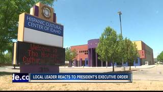 Local leaders react to President Trump's action